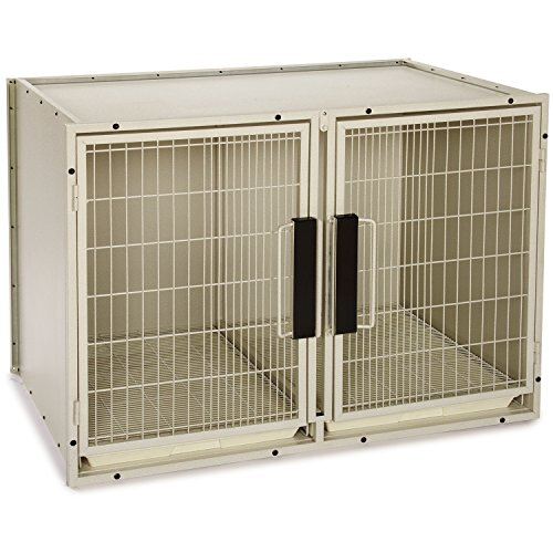 proselect-steel-modular-kennel-pet-cage-large-sandstone