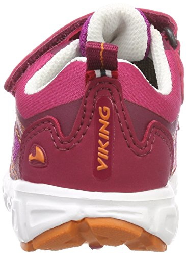 Viking Unisex-Kinder Veme Vel GTX Outdoor Fitnessschuhe Pink (Fuchsia/Orange 1731)