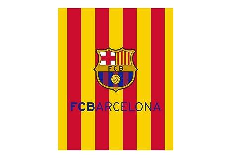 3b904ca6fe1a8 TEXTIL TARRAGO FCB Barcelona Manta Coral con Tacto Suave Senyera Catalunya  Bandera Cataluña Barça FCBARCELONA