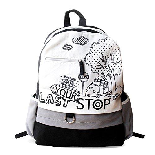 Reise Mode Frau Umhängetasche/Lässige Tasche/Schoolbag Hochschule Wind