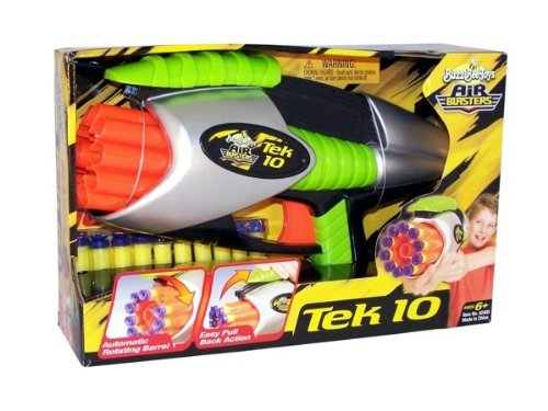 Tek 10 Blaster w/ 10 darts by Buzz Bee