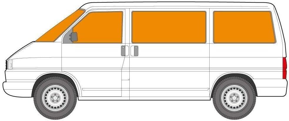 Just Kampers Tenda termica per schermo interno compatibile con VW T4 Transporter 1990-2003 8 pezzi