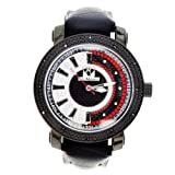 Speedometer Style Men Ice Mania Watch Diamond King Sleek Black Special