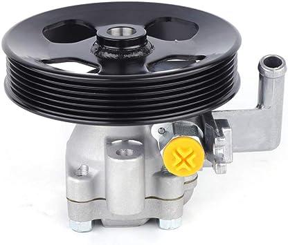 Power Steering Pump w//Pulley 57100-2E100 Fit for 2005-2009 Hyundai Tucson 2.7L 2656CC V6 GAS DOHC 2005-2010 Kia Sportage 2.7L 2656CC V6 GAS DOHC
