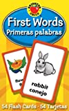 First Words / Primeras palabras Flash Cards (Brighter Child Flash Cards) (English and Spanish Edition)