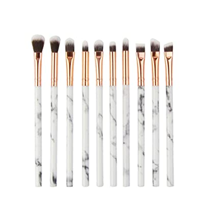 Clearance Sale!DEESEE(TM) 10Pcs Multifunctional Makeup Brush Concealer Eyeshadow Brush Set Brush Makeup Tool (D): Beauty