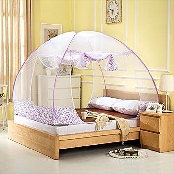 Jurte Moskitonetz Fur Bett Pop Up Falten Der Tur Moskitonetz Bett
