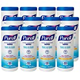 PURELL 9111 Hand Sanitizing Wipes, Non-Alcohol Formula
