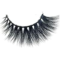 Full Strip Lashes 100% Real Siberian Mink Strip Eyelashes 3D Mink False Eyelashes