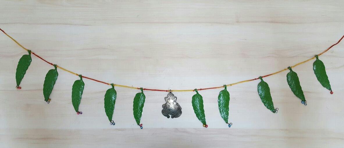 Buy Yashaswini Kalagrah Mango Leaf Toran Online At Low Prices In India