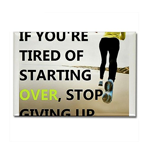 CafePress - Stop Giving Up Rectangle Magnet - Rectangle Magnet, 2