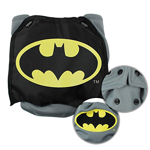 Bumkins Cloth Diaper Snap All-In-One (AIO) or Pocket with Cape, 7-28lbs, DC Comics Batman (Diaper Bumkins Cover)