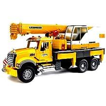 Bruder Mack Granite Liebherr Crane Truck by Bruder