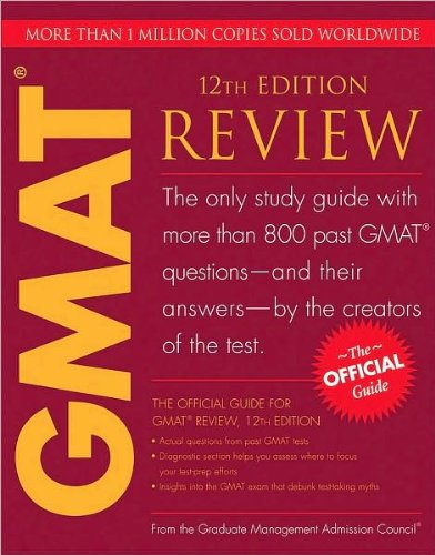 Download Admission's The Official Guide for GMAT Review (The Official Guide for GMAT Review, 12th Edition by Graduate Management Admission Council (GMAC) (Paperback - Mar. 23, 2009)) pdf epub