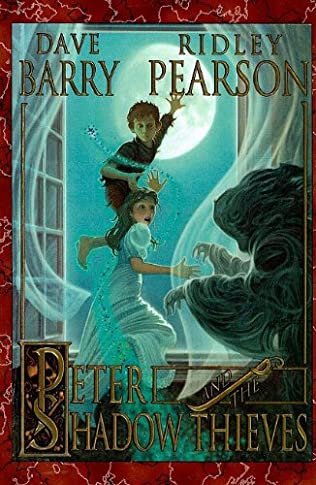 book cover of Peter and the Shadow Thieves