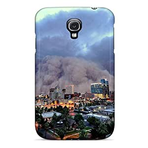 UaV-1480wDyQ Case Cover, Fashionable Galaxy S4 Case - Amazing S Storm Over A City