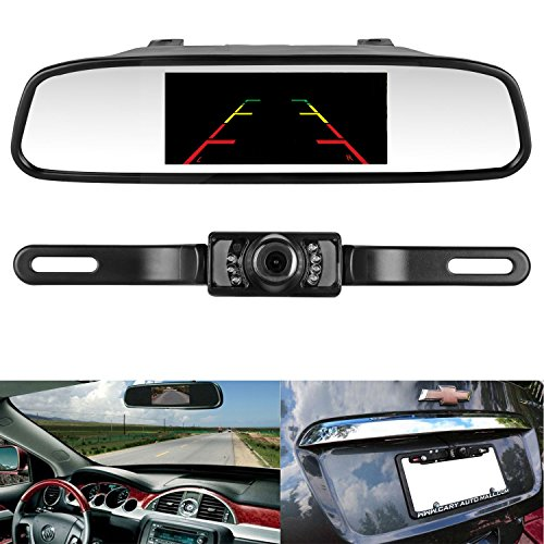 ZSMJ Monitor Vehicle Rearview Rear view product image