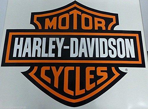 Harley-Davidson Bar & Shield Decal Trailer HD garage Huge decal sticker Door Shop Diesel Power Plus
