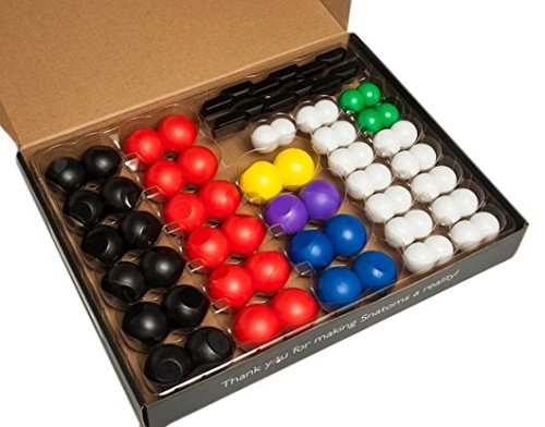 Snatoms MicroSnatoms Magnetic Molecular Building Kit by Veritasium (Image #1)