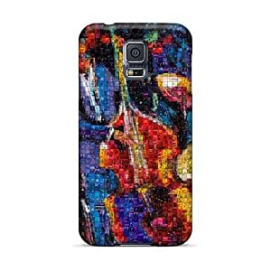 Bumper Hard Cell-phone Case For Samsung Galaxy S5 (WhV11658XgZe) Custom Trendy Muse Skin