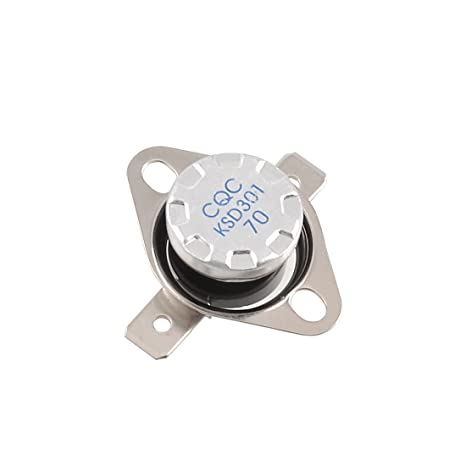 KSD301 250V 10A 70 Grados centígrados Control De Temperatura Interruptor Termostato N.C.