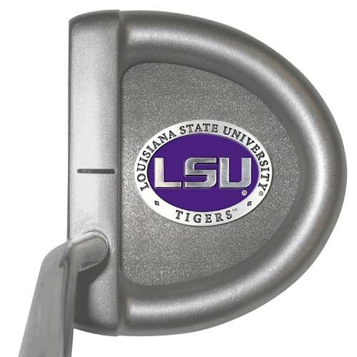 LSU Tigers Putter by Heritage Pewter