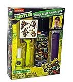 Teenage Mutant Ninja Turtles Kid Bath Time Toy Shave kit Set 4 Temporary Tattoos