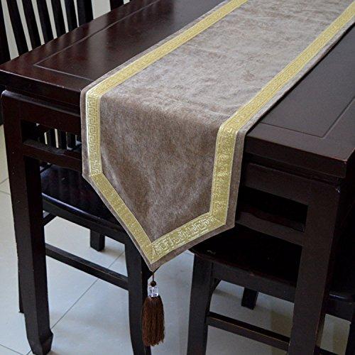 QIDNCJA Escritorio moderno cama Toalla mesa de cama moderna ...