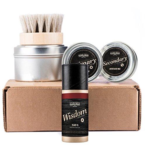 Price comparison product image CanYouHandlebar Basic Beard Care Kit : Wisdom Beard Oil Bottle