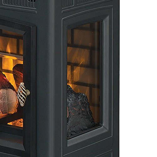 Duraflame Electric Infrared Quartz Fireplace Stove With 3d Import