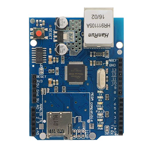 Smraza Ethernet Shield W5100 Expansion Network Module for Arduino UNO Mega2560 1280 ATmega328 168 S09 (Web Networks)
