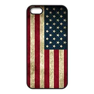 American Flag The Unique Printing Art Custom Phone Case for Iphone 5,5S,diy cover case ygtg-774981