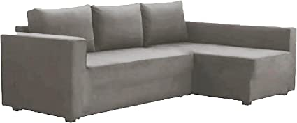 The Cotton Manstad Cover Replacement Is Custom Made For Ikea Manstad Sofa  Bed With Chaise Sectional