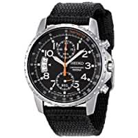 Seiko\x20Men\x26\x23039\x3Bs\x20SNN079P2\x20Chronograph\x20Stainless\x20Steel\x20Watch\x20With\x20Black\x20Cloth\x20Band