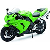 NewRay 1:12 Motorcycle 2006 Kawasaki Zx-10R-Sport Bike Diecast Vehicle