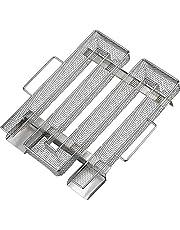 KARAA Rostfritt stål kallröksgenerator 304 rostfritt stål BBQ träpellet rökkorg – BBQ rökare tillbehör för kallrökning kött nötkött kyckling