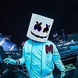 Rednow LED DJ Mask Music Festival Full Head Masks