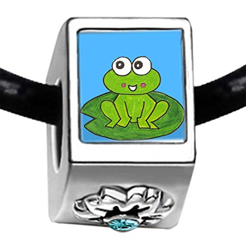 little cute frog cartoon Photo Blue Aqua - Pugster Cute Frog Shopping Results