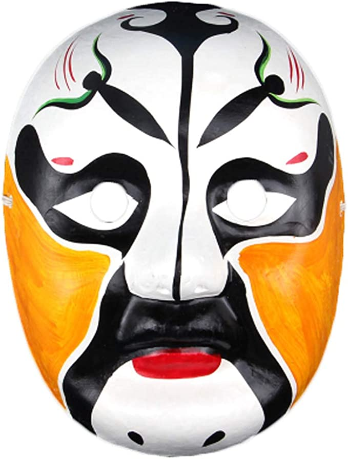 Black Temptation Producto Local Especial Ópera de Pekín Máscara Colección de Cultura Tradicional China Adorno Colgante # 16: Amazon.es: Juguetes y juegos