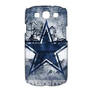 New 2014 NFL Dallas Cowboys Denim Blue Team Logo Samsung Galaxy S3 I9300 Snap-on Back Cover Case