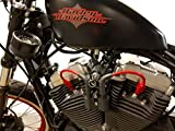 sportster coil relocation kit - JBSporty ♧ Coil and Ignition Relocation Bracket w/ Red Taylor Wires Harley Davidson Sportster, Nightster, 72, 48 Iron Roadster 883 1200 ♤