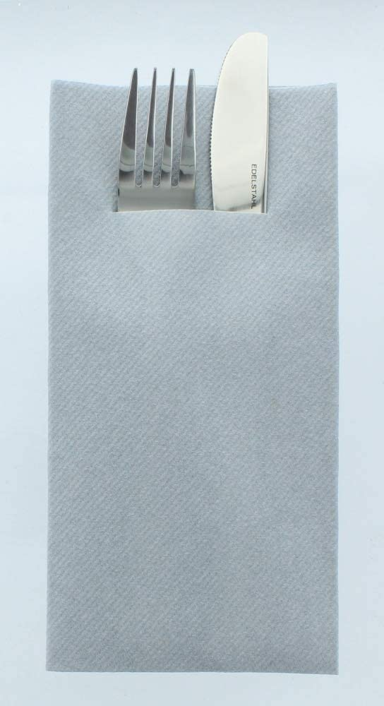 75 St/ück Mank Airlaid Besteckservietten Uni Premium Einweg-Serviette 1//8-Falz saugstark 40 x 40 cm Basic Gold
