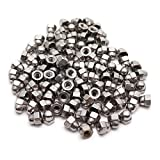 Sydien 100pcs M3 Inner Diameter Hex Acorn Nuts 304 Stainless Steel Hexagon Decorative Cap Nut Acorn Dome Head Nuts