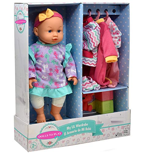 Soft Body Baby Doll, 14 Inch Doll with Clothes Set and Accessories from Dolls To Play