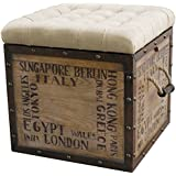 Amazon Com Best Selling Wellington Tray Top Ottoman