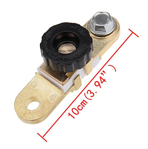 2 PCS Ambienceo Side Mount Battery Terminal Switch Battery Quick Cut Off Disconnect kill Switch