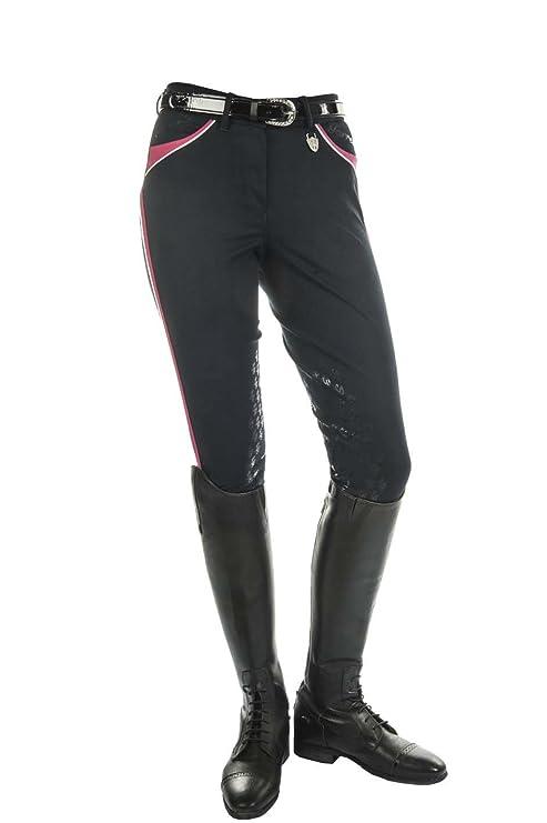 Lauria Garrelli HKM Pantalones de equitación Wave Polo Classic en ...