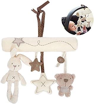 Music Star Newborn Baby Crib Stroller Hanging Accessories Rattles Plush Toy