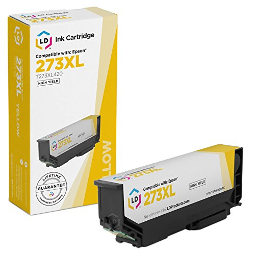 LD Products Remanufactured Ink Cartridge Replacement for Epson T273XL420 ( Yellow )