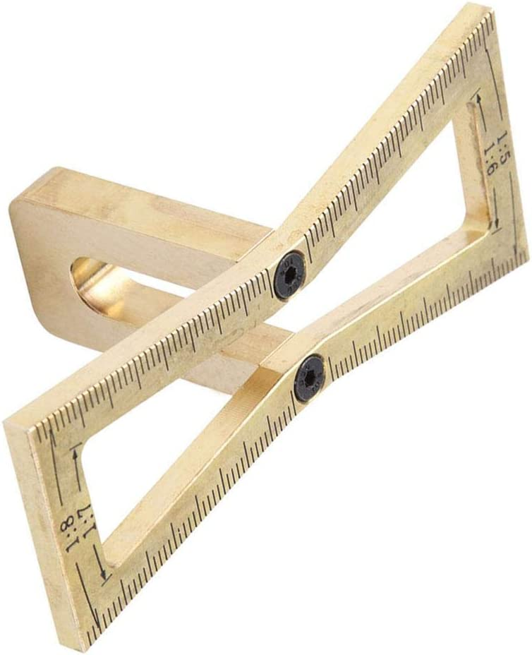 5//1 Herramienta de gu/ía de cola de milano 7//1 6,1 8 carpinter/ía Marcador de regla de cola de milano Cortar a mano Juntas de madera Especificaciones de la herramienta de gu/ía de cola de milano 1